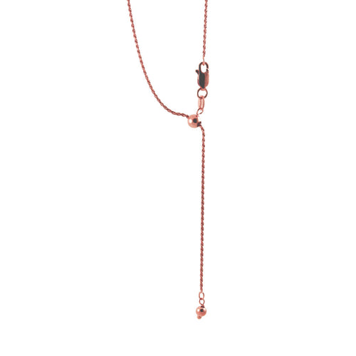 Rosy Adjustable Bolo Chain Necklace
