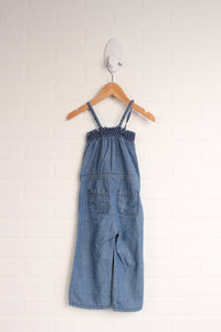 Light Wash Denim Romper (Size 18-24M)
