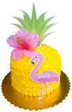 Flamingo Pineapple Cake