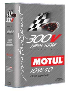 MOTUL ENGINE OIL 300V CHRONO 10W40 2L