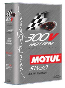 MOTUL ENGINE OIL 300V POWER RACING 5W30 2L