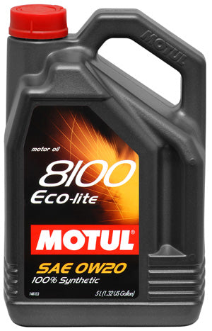 MOTUL ENGINE OIL 8100 ECO-LITE 0W20 5L