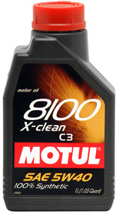 MOTUL ENGINE OIL 8100 X-CLEAN 5W40 C3 1L