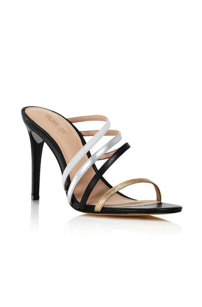 Hailey Sandal - Black Multi
