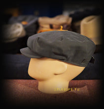 Load image into Gallery viewer, Wayfarer Cap - Slate Waterproof Bonded Cotton - reduced from £80
