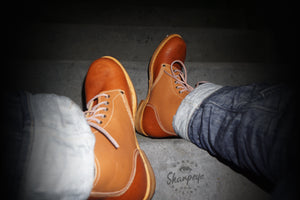 Sharpeye Two Tone Naval Boots - Tan (Only 1 Per Size)