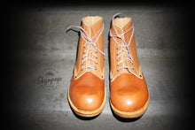 Load image into Gallery viewer, Sharpeye Two Tone Naval Boots - Tan (Only 1 Per Size)