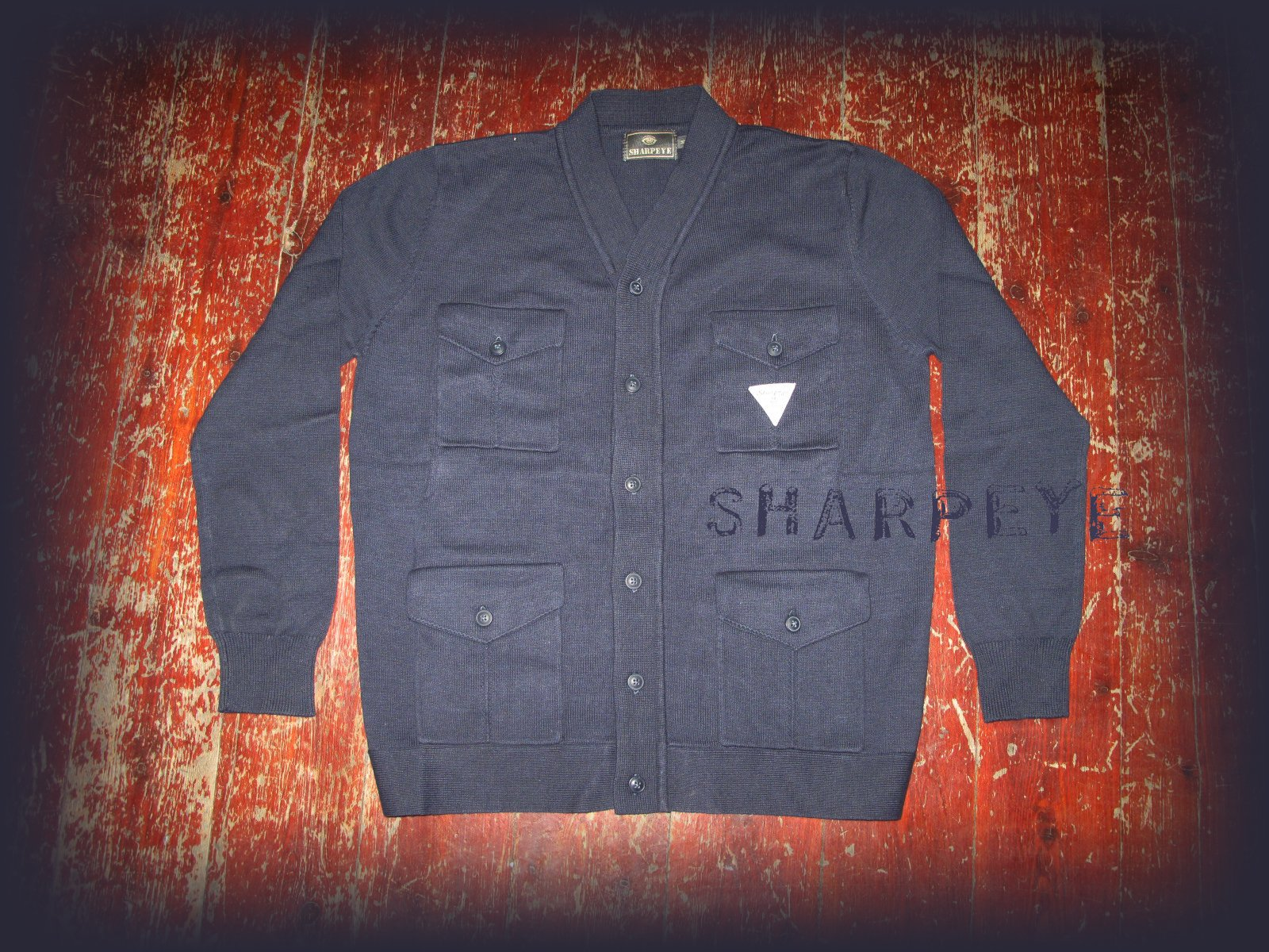 Captain Cardie Navy  - reduced from £90