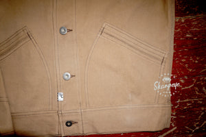Stoker Jacket - Tan Japanese Canvas - Limited Edition - reduced from £170