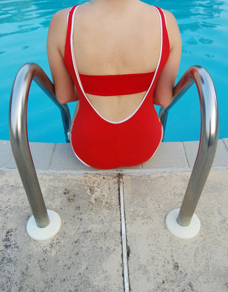 The Laps Suit in Red
