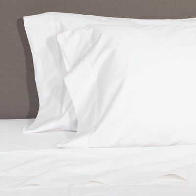 Soft White 400 Thread Count Sheet Set 1 (Fitted, Flat, & Pillow Cases)