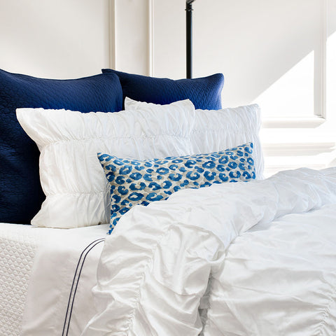 Bedroom inspiration and bedding decor | The Sutter White | Crane and Canopy