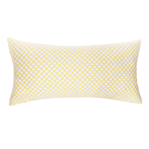 Bedroom inspiration and bedding decor | The Yellow Cloud Throw Pillow | Crane and Canopy