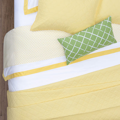 Bedroom inspiration and bedding decor | The Yellow Cloud Sheet Sets | Crane and Canopy