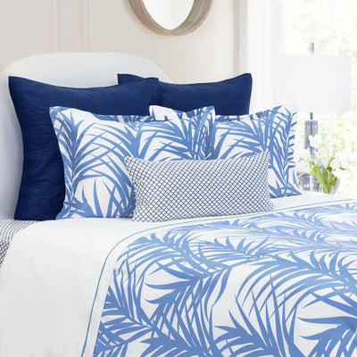 Bedroom inspiration and bedding decor | The Laguna Blue Duvet Cover | Crane and Canopy