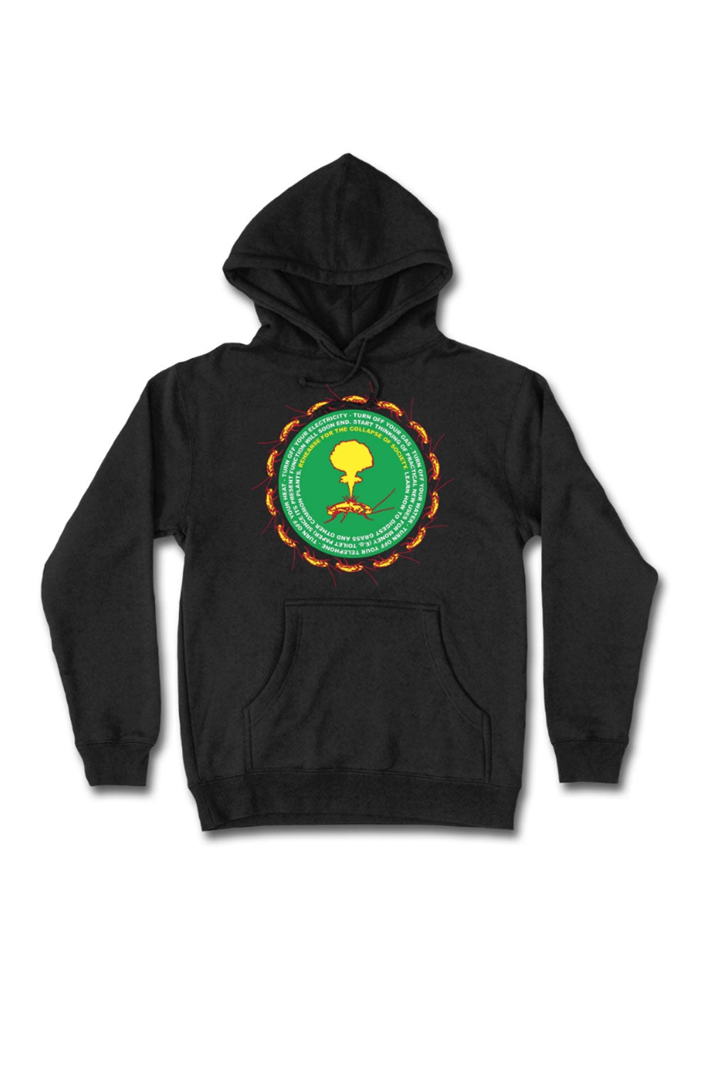 Come Sundown Collapse Hoodie | Come Sundown Clothing & Accessories