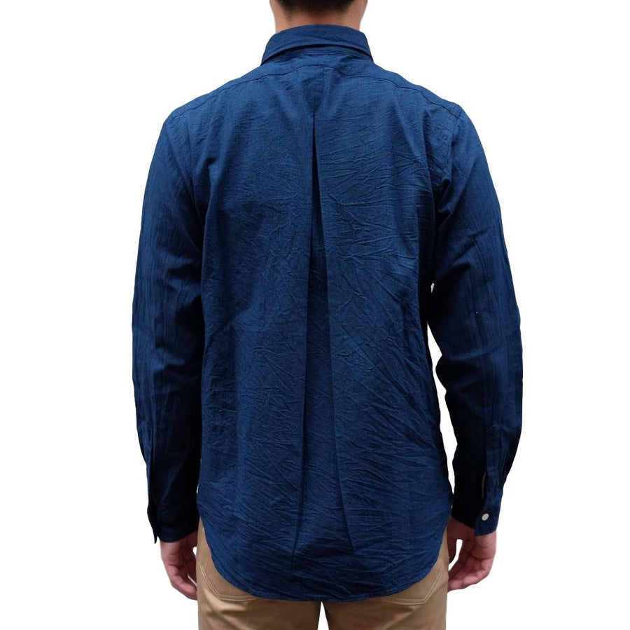 Japan Blue 5oz. Deep Indigo Côte d'Ivoire Tailored Chambray Shirt