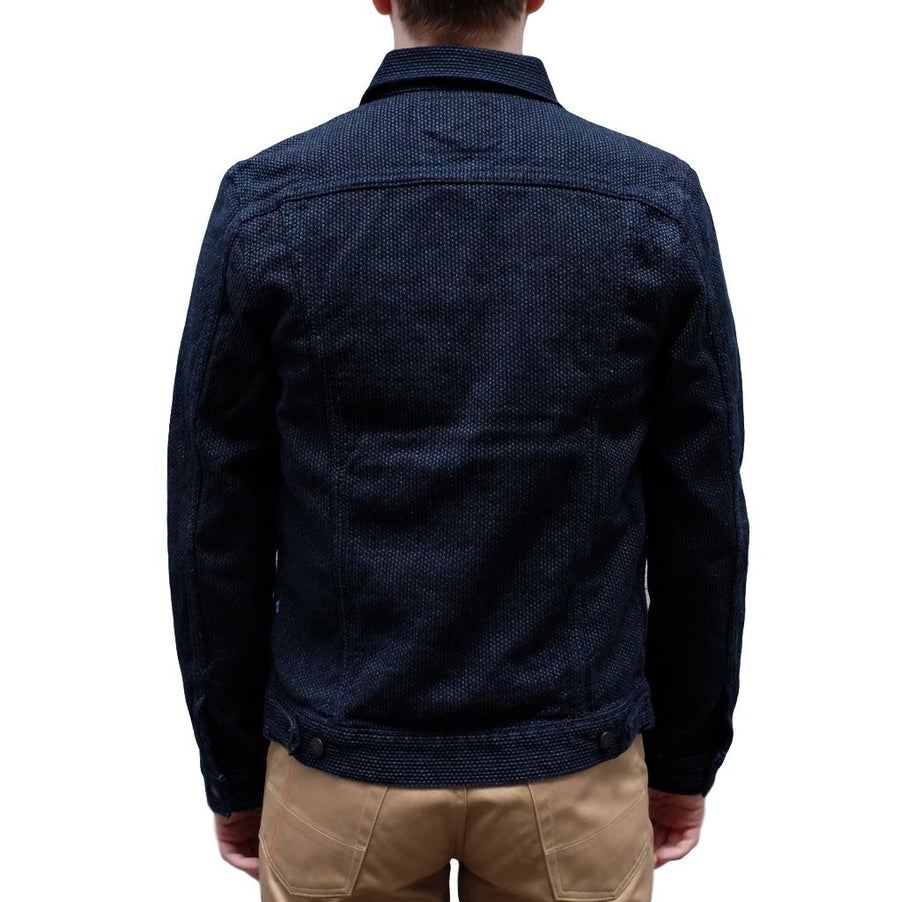 Pure Blue Japan 6096 Type II Indigo Sashiko Selvedge Jacket