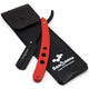 Saaqaans MSR-02 Professional Barber Shaving Razor (Red & Black)