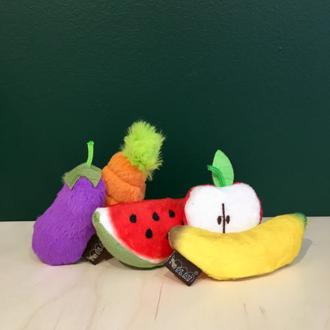 Fruit and Vegetable Catnip Toy