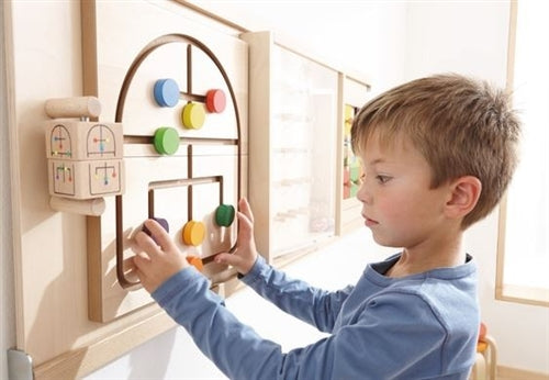 Labyrinth Maze Sensory Wall Activity Panel by HABA
