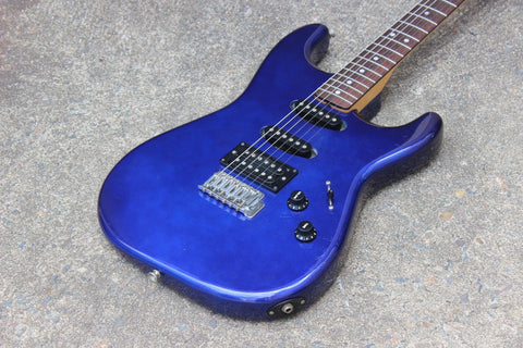 1980's Tokai Japan Custom Edition HSS Stratocaster Superstrat (Blue)