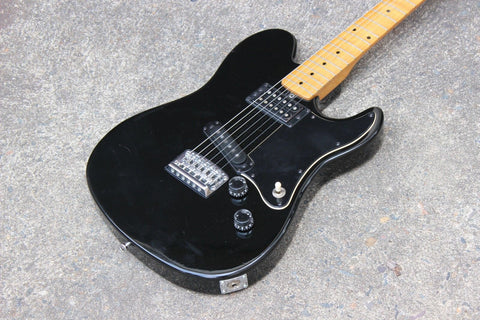 1981 Yamaha Japan SJ500 Super Jam Telecaster Humbucker MIJ (Black)