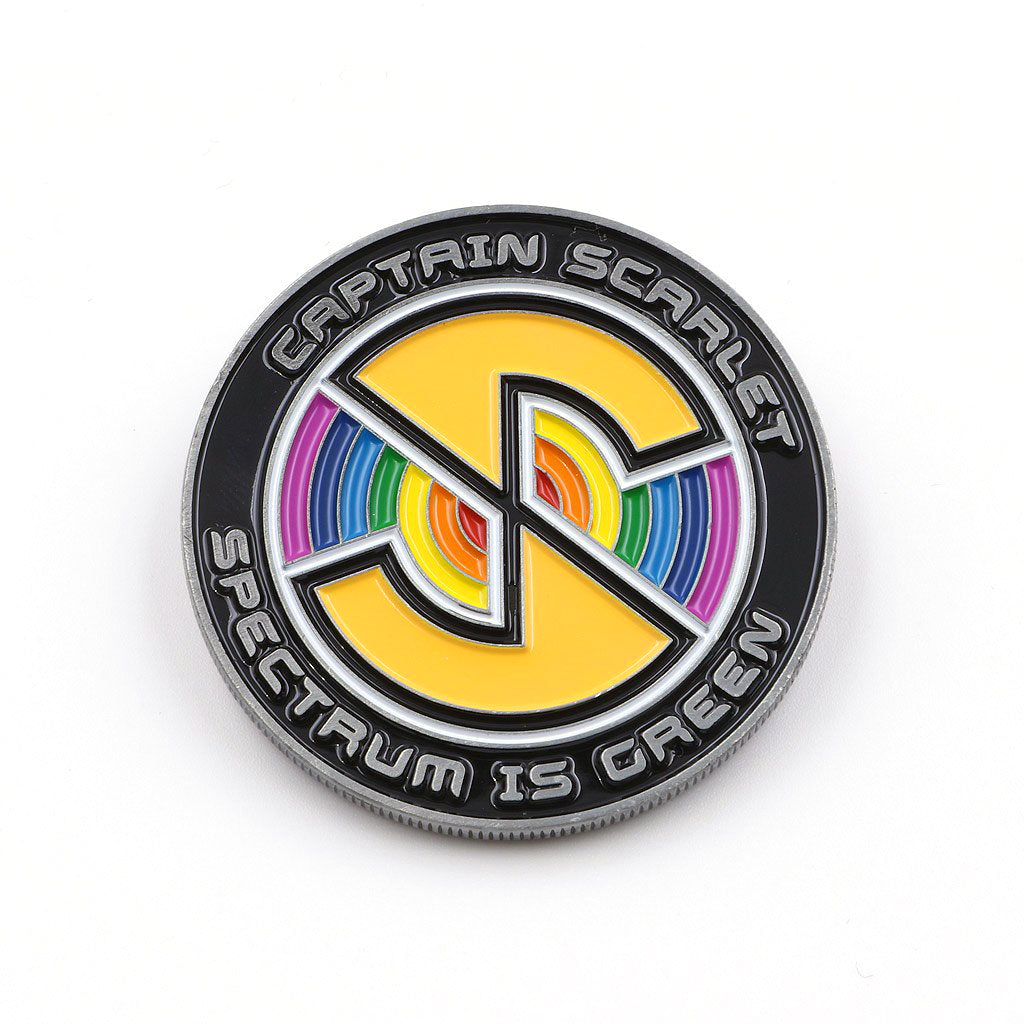 Official Captain Scarlet - 50th Anniversary Coin - The Koyo Store