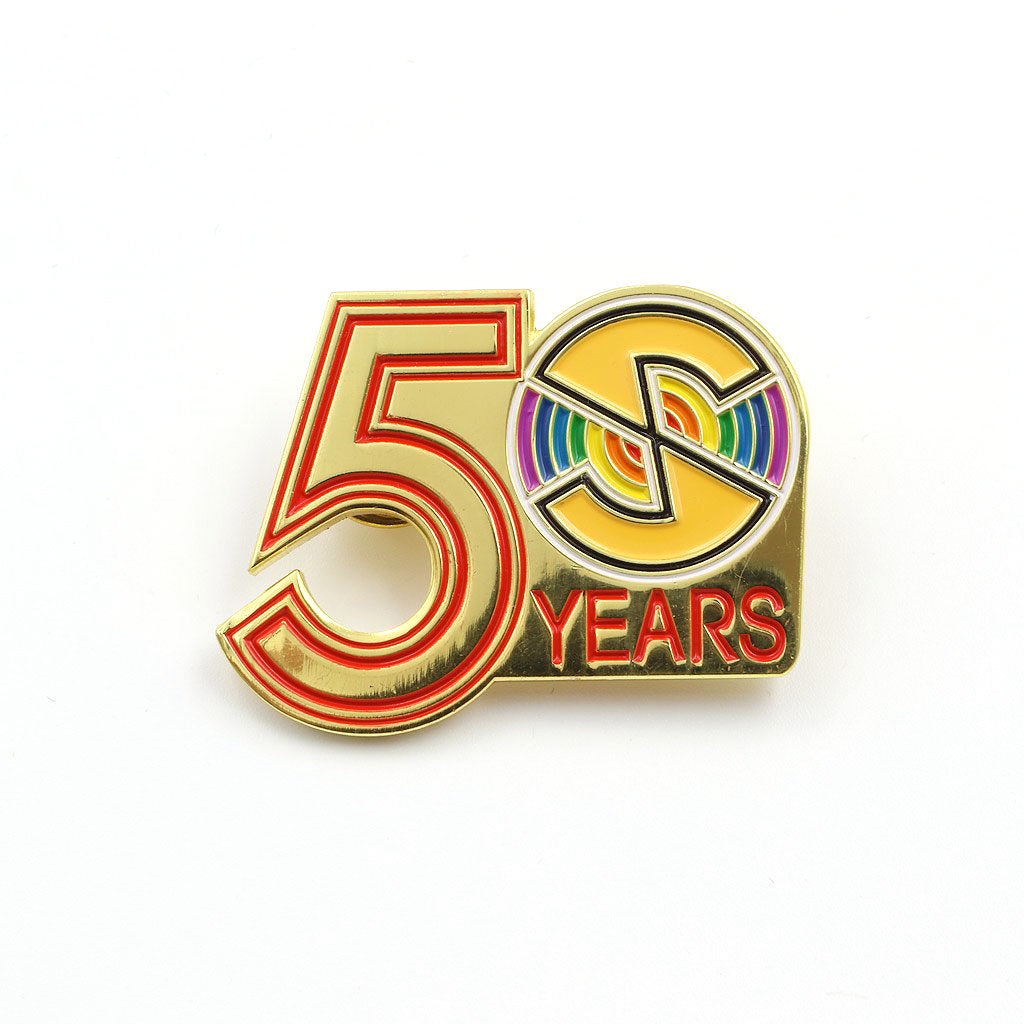 Official Captain Scarlet - 50th Anniversary Pin - The Koyo Store