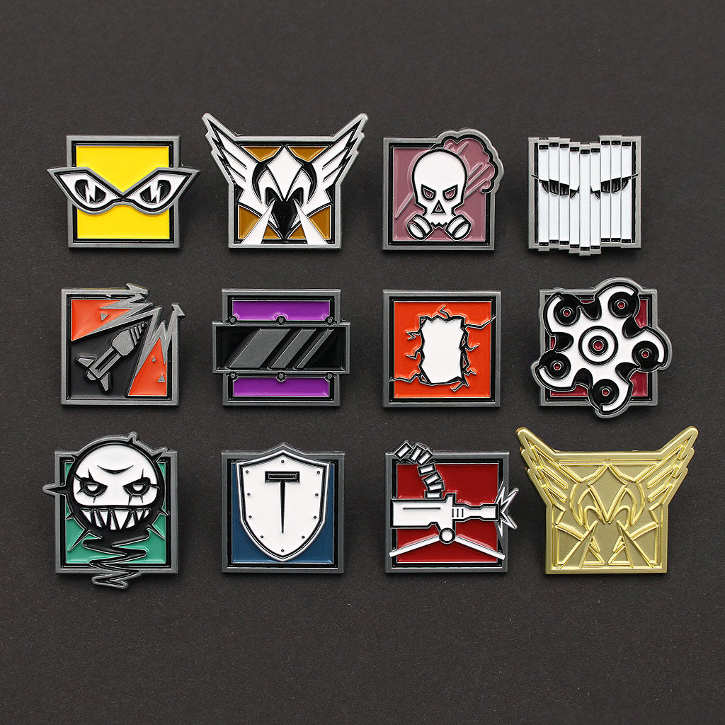 Operator Pin Bundle Series 1 - Six Collection - The Koyo Store