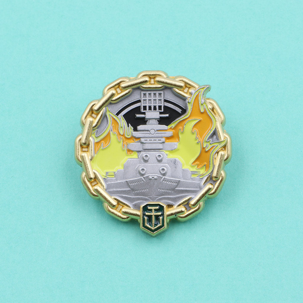 World of Warships Fireproof Pin - The Koyo Store