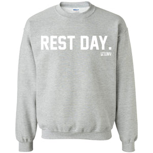 Rest Day Logo. Crewneck