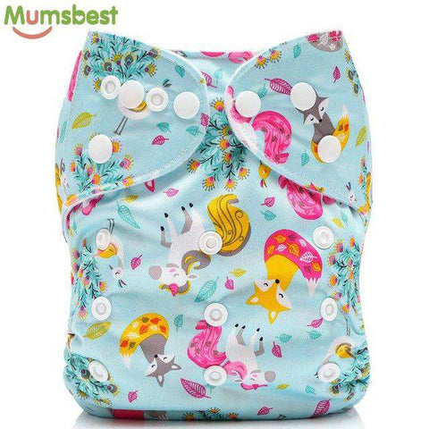 Cartoon Pattern Cloth Nappies (29 Styles)-Dear Baby
