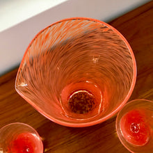 Load image into Gallery viewer, Orange Swirl Martini Set