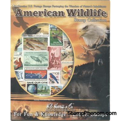 American Wildlife Collection-Stamp Packets-HE Harris & Co-StampPhenom