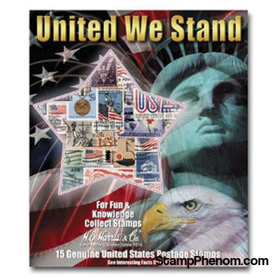 United We Stand Collection-Stamp Packets-HE Harris & Co-StampPhenom