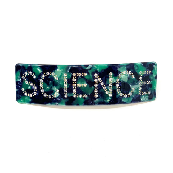 Science Hair Clip