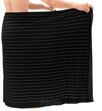 Load image into Gallery viewer, la-leela-rayon-solid-nightwear-swim-pareo-lungi-boys-wrap-72x42-black_6707-black_v477