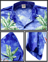 Load image into Gallery viewer, la-leela-mens-aloha-hawaiian-shirt-short-sleeve-button-down-casual-beach-party-4