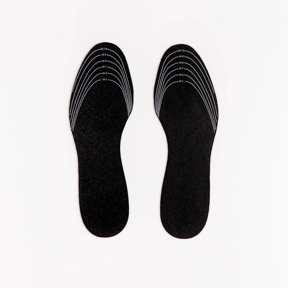 Textured Underside of Insoles Trim Lines