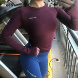 Long Sleeve  Sports Tops.