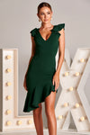 CYRELL DRESS IN EMERALD GREEN
