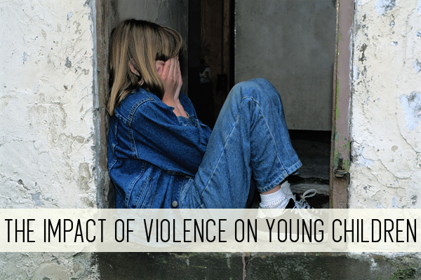 the impact of violence on young children online child care class