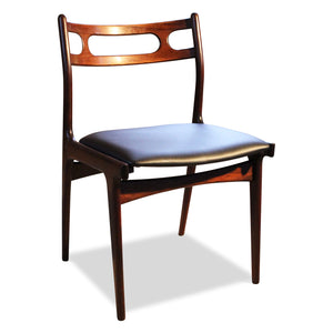 Johannes Andersen Rosewood 138 Chairs