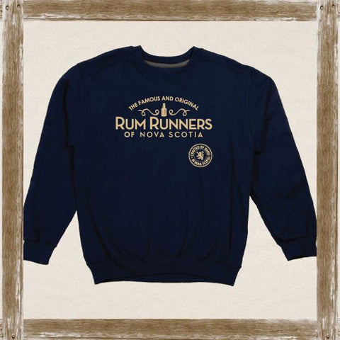 Rum Runners Swirly Logo Sweatshirt