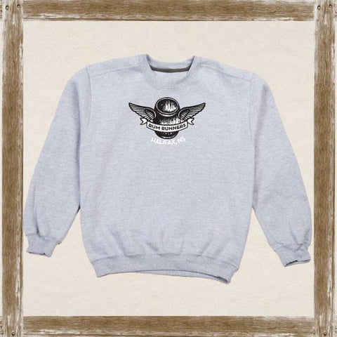 Winged Barrel Crewneck Sweatshirt