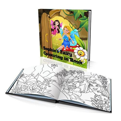 The Fairies Hard Cover Colouring Book