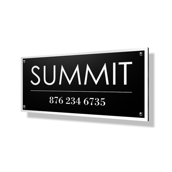 Summit Business Sign - 24x12