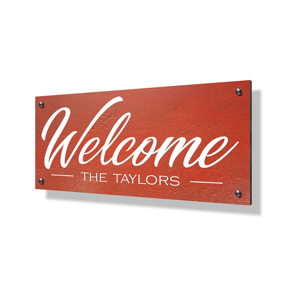 Welcome Business Sign - 24x12
