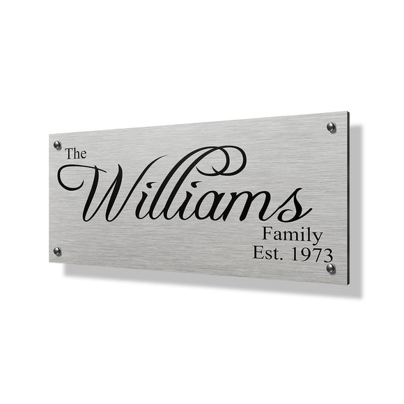 Williams Business Sign - 24x12